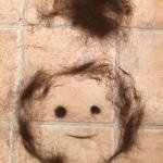 髪の毛アート (16)